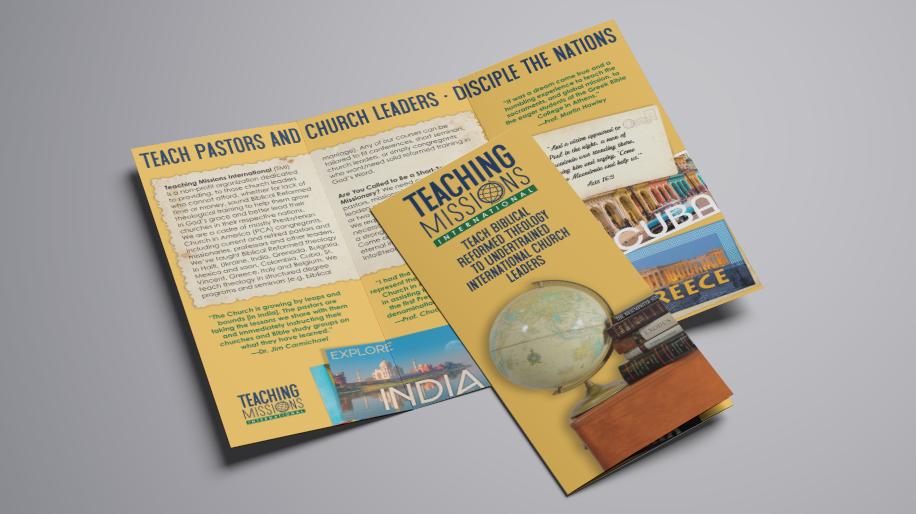 Teaching Missions International Branding
