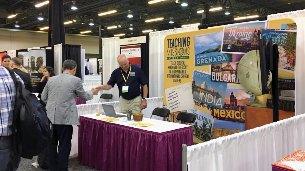 Teaching Missions International Booth
